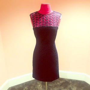 Diane von Furstenberg lace cocktail dress